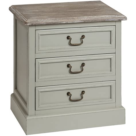 bedside drawers lyon grey 3 drawer bedside table bedroom furniture direct