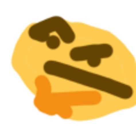 emoji yaranaika thonk thinking face emoji know your meme