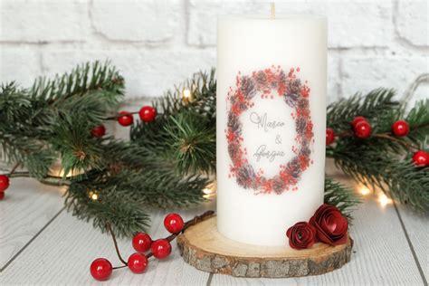 decorare con candele decorare candele con carta velina decorazioni natalizie
