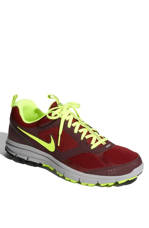 burgundy running shoes nike lunarfly 2 trail running shoe in for team