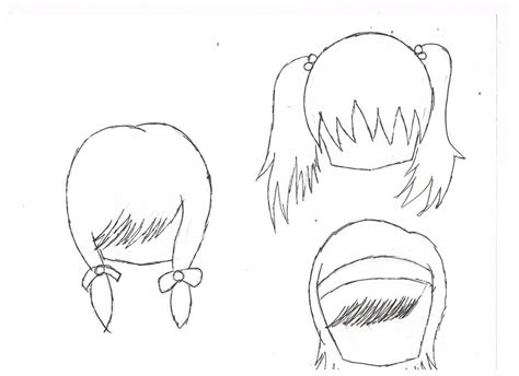 cute easy hairstyles to draw chibi hairstyles by nana457896 on deviantart