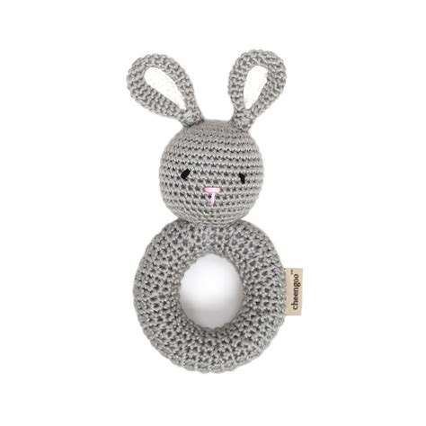 Bunny Ring cheengoo bunny ring rattle thetot