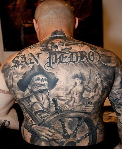 captain tattoo pirate tattoos