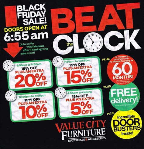 Value City Furniture Coupons by Value City Furniture Black Friday Ads Sales Deals 2016