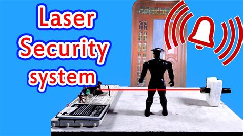 laser security alarm how to make at home
