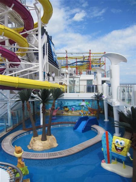 norwegian cruise with baby toddler area splash pad on getaway page 2 cruise