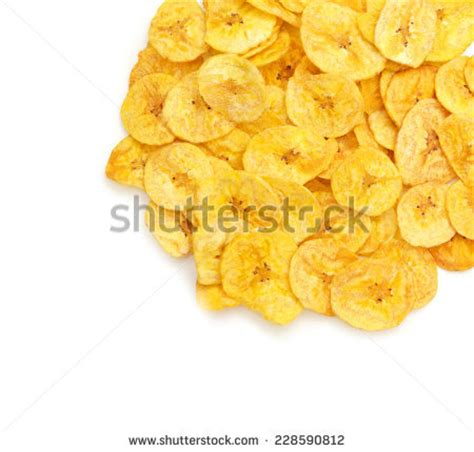 banana chips wallpaper french fries on white background stock photo 247379533