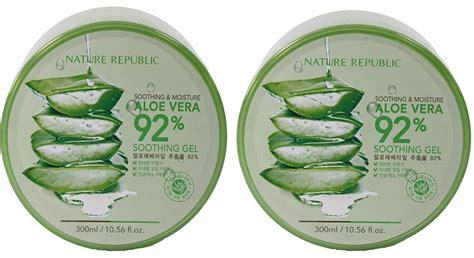 Nature Republic Aloe Vera Soothing Gel Mist 150ml nature republic soothing moisture aloe