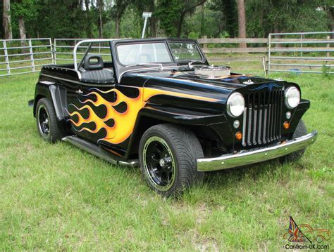 custom willys jeepster 1948 custom willys overland jeepster street rod