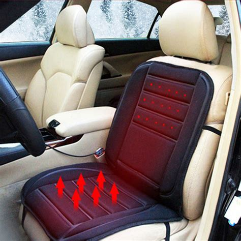 warm car seat cover 12v warm heated car seat cover cushion electric heating