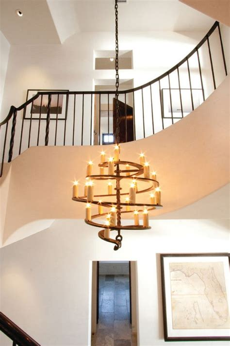 Stairwell Chandelier Lighting Contemporary Chandeliers That Compliment Modern Homes