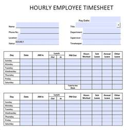 Html5 Blank Template by 9 Blank Timesheet Templates Free Sle Exle Format