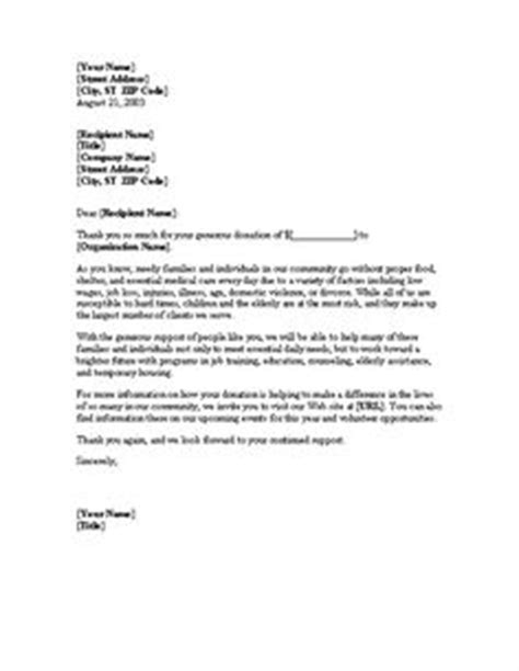 Donation Support Letter Sle The Masters Plan On Thank You Letter Letter Templates And Word Doc