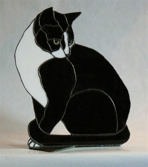 stained glass cat l stained glass mosaics pinterest glass cat and mosaics