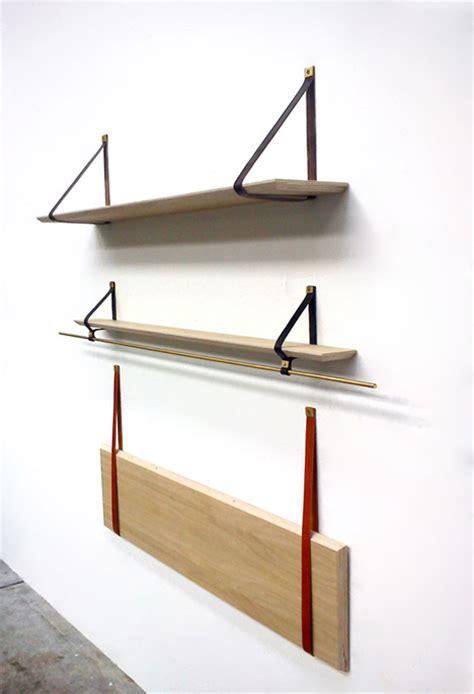 minimalist shelves make themselves scarce when unneeded