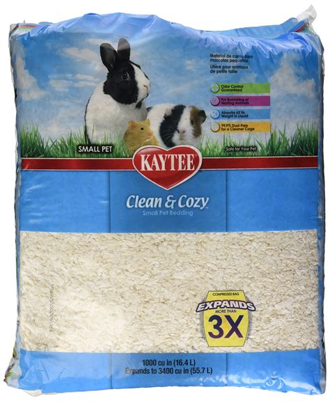 kaytee clean and cozy bedding kaytee clean and cozy small animal bedding original 1000 cubic inch ebay