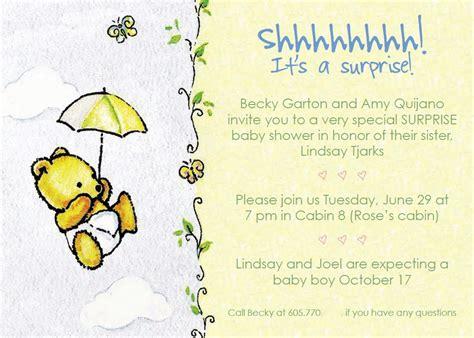 Baby Shower Evites by Baby Shower Invitation Wording Dancemomsinfo