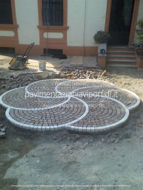 decori pavimenti pavimentazioni avi porfidi disegni e decori in porfido