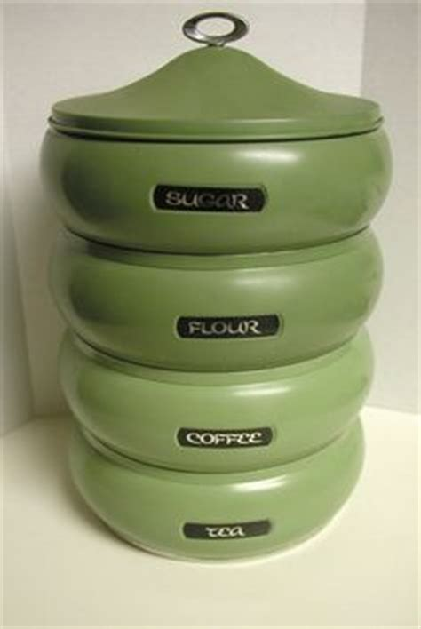 1000 images about canister sets on canister - Green Kitchen Kanister Sets