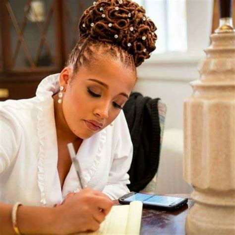 formal updos for locs 30 gorgeous sisterlocks styles