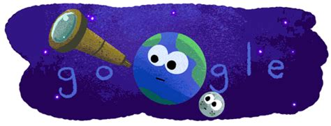 theme google earth google s latest space themed doodle is exceptionally