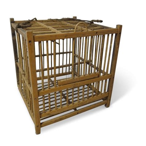 wooden cage cages prop hire 187 small wooden bird cage keeley hire