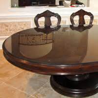 buy glass table top covers online furniture protectors