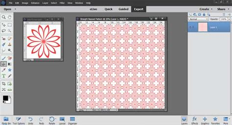 create pattern in photoshop elements how to make a simple straight repeat pattern using