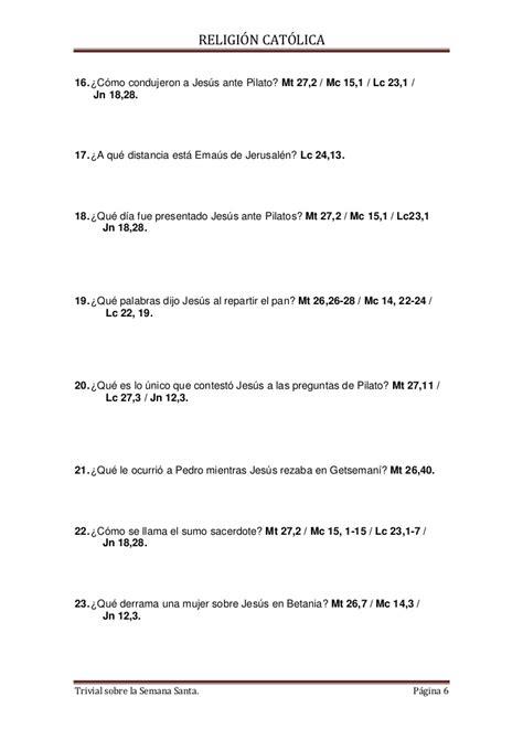 preguntas de jesus en la biblia la biblia preguntas sobre semana santa