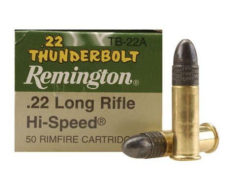 remington thunderbolt 22 ammo product detail of remington thunderbolt ammunition 22 long
