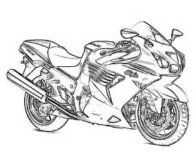 coloring for motorcycle coloring pages to print free printable