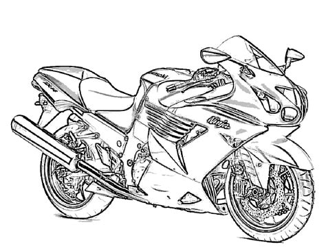 Free Motorcycle Coloring Pages To Print | free printable motorcycle coloring pages for kids