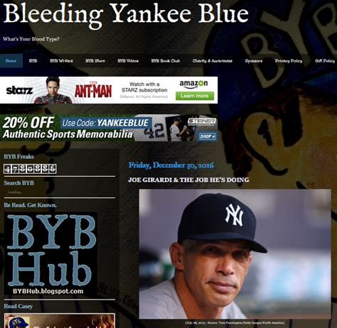 bleeding yankee blue bleeding yankee blue is blogging replacing small talk