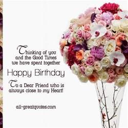 birthday wishes dear friend 171 birthday wishes - Birthday Card For Dear Friend