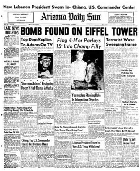Arizona Daily Sun from Flagstaff, Arizona · Page 1 Newspapers In Flagstaff Arizona