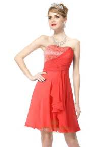 chagne colored cocktail dress coral graduation dresses coral colored