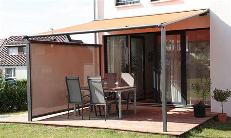 überdachung terrasse stoff hartig windschutzl 246 sungen aus stoff