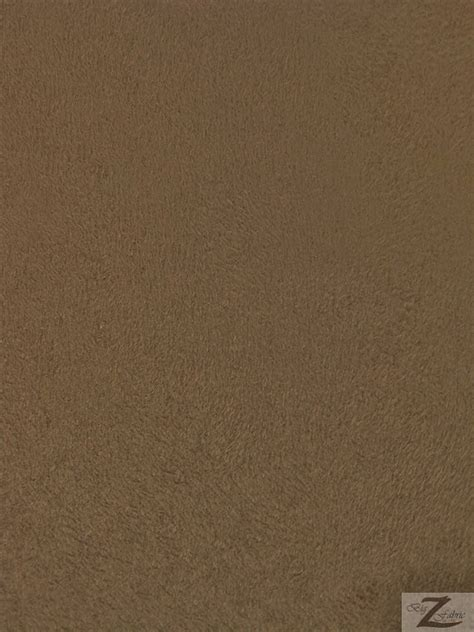 Microfiber Suede Upholstery Fabric Earth 58 Width