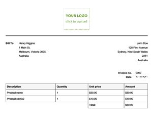 electronic invoice template invoice exle