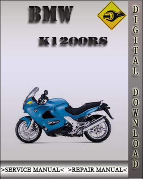 Bmw K1200rs 2001 Factory Service Repair Manual Download