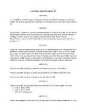 Writing Your Own Will Template by 1000 Images About Last Will Testament Preparation On