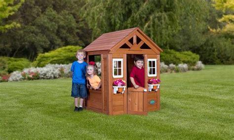 backyard discovery timberlake cedar wooden playhouse timberlake playhouse playhouses backyard discovery