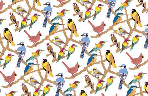 pattern bird art birds rebecca s reflective journal