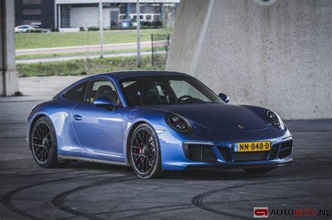 porsche 911 gts spoiler porsche 911 gts 991 2 rijtest en autoblog nl