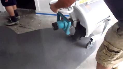 Mixing & Pouring Ardex self leveling concrete   YouTube