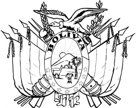 dibujos para pintar y colorear de guatemala dibujos de los s 237 mbolos patrios de bolivia para pintar