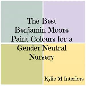 gender neutral colors best benjamin gender neutral paint colours for