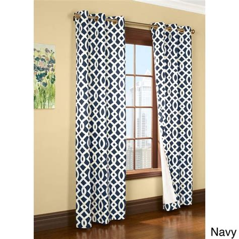 navy blue geometric curtains 25 best ideas about navy blue curtains on pinterest