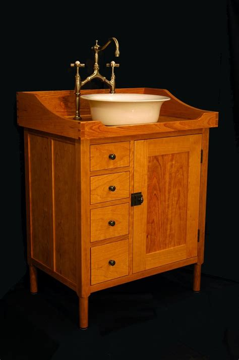 Vanity Washstand by Custom Made Shaker Vanity Washstand By W Andrew Maisel