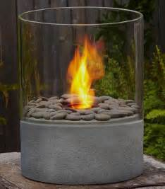 Tabletop Firepit Modesto Column Contemporary Tabletop Fireplaces By Home Decorators Collection